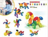 Kind-glückliche Baustein-Plastikspielwaren