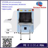 다중 발전기 엑스레이 수화물 스캐너 At6550d는 장비 공항을%s 전망 안전 이중으로 한다