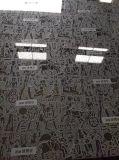 Appuyez sur la plaque en acier inoxydable de texture pour panneau décoratif, MDF Composites, finitions de RELEVAGE HYDRAULIQUE