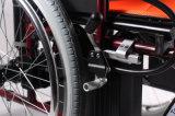 Equipamentos de reabilitação em alumínio de recolhimento de Alta Resistência Mobilidade cadeira de rodas