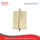 "간격 3mm Decoration를 위한 Fixed Pin를 가진 4 "" X3 "" Steel Door Hinge"