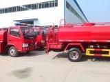 Dongfeng 6 rueda 5000 litros del agua el fuego de la lucha contra de carro del tanque