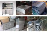 Сталь углерода/нержавеющая сталь/алюминий/латунная гидровлическая гибочная машина CNC металла