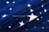 [カスタマイズされる点販売の]フランネルの羊毛毛布-星