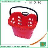 Nouveau style de plastique Boshine Panier Votre panier de roulement en plastique de supermarché pour la vente