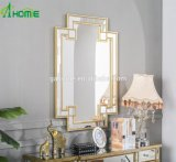 Decorazione elegante/unica moderna dell'ornamento un insieme degli specchi della parete e della mobilia rispecchiata