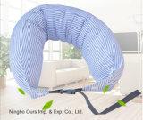 Nuevo tipo U almohada de algodón tejido de la salud en el cuello almohada
