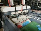 Sac à grande vitesse automatique de T-shirt de Double-Couleur faisant la machine