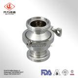Gelast/de Vastgeklemde fabriek voor het Sanitaire Niet teruggeven van het Roestvrij staal 304/316L/paste/voorziet de Klep van de Controle in van een flens
