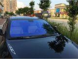 Heißes verkaufenblau, zum des Chamäleon-Filmes für Auto-Fenster zu grünen