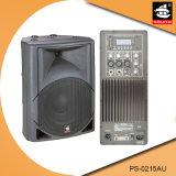 15 Spreker pS-0215au van de FM van de duim USB BR de Plastic Actieve 200W