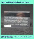 Cartões de tarja magnética feita padrão de PVC CR80 para os negócios