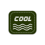 Logotipo personalizado PVC flexible de PVC, etiqueta de marca registrada