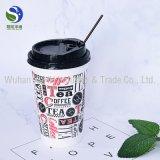 Оптовая кружка кофеего бумаги пены высокого качества с крышками