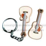 Gitarre weiches Kurbelgehäuse-Belüftung GummiKeychain für förderndes