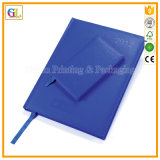 Service d'impression en cuir de cahier d'affaires d'unité centrale (OEM-GL013)