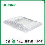 100 W LED de ahorro de energía de luz techado para gasolineras y pasillos con UL