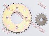 Biz100のためにセットされるオートバイの部品伝達一定のスプロケット