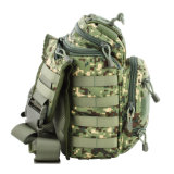 Recorrido táctico militar del morral del hombro al aire libre que acampa yendo de excursión el Portable del bolso