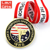 Médaille molle enfoncée plaquée spéciale populaire de vente chaude de souvenir de cadeau d'émail de club de mode faite sur commande personnalisée par cadeau