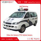 Cámara PTZ de coche de policía