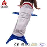Nouveau design de haute qualité flanelle requin polaire Couverture pour les enfants