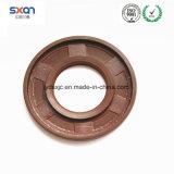 Sello de petróleo de goma de FKM Brown para el sello del eje