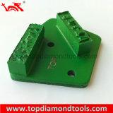 Конкретные алмазные шлифовальные пластину для подготовки поверхности