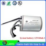 Paquete original de la batería del Li-ion de la alta calidad 12V 60ah para Solars