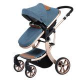 Neuer Entwurfs-europäischer Luxuxfalten-Kinderwagen mit Cer