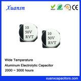 10UF 50V Aluminiumkondensator elektrolytisches SMD