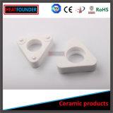 Tubo d'isolamento di ceramica della steatite bianca di colore