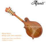 L'abete rosso solido di Afanti AAA/ha fiammeggiato il mandolino dell'acero F (AM-F90MK)