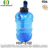 Подгонянная оптовой продажей бутылка воды гимнастики 2.2L BPA свободно пластичная
