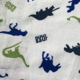 Tessuto stampato della flanella di cotone del tessuto da 2016 inverni per i pigiami e gli indumenti da notte delle signore