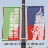 Het lichte Wapen van de Banner van de Hardware van de Media van de Reclame van de Steun van het Teken van Pool Openlucht Flex