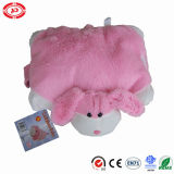 Bunny Pink Lovely Gift Cushion Bed Sleeping Buddy 2in1 Oreiller