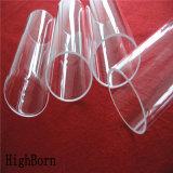 Calentador del tubo de cristal de cuarzo del claro del precio de fábrica