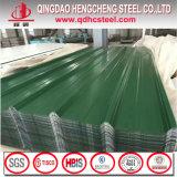 Feuille ondulée en acier de toiture de SGCC CGCC PPGI de Chine