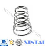 Ressort de compression hélicoïdal cylindrique de zinc fait sur commande