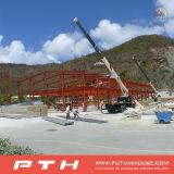 PU Sandwich Panel de pared prefabricada Steel Warehouse