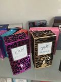 Caixa de embalagem de perfumes de luxo exclusivo com flocos