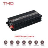 AC 110V 220V 차 USB 플러그를 가진 순수한 사인 파동 태양 에너지 변환장치에 3000W 단일 위상 DC 12V