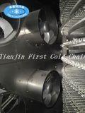Máquina rápida espiral dobro de Freezer/IQF para a carne do camarão do alimento