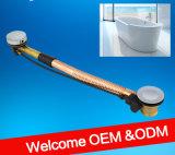 Kundenspezifisches Großhandelsdienstbadezimmer-flexibles Abflussrohr für Badewanne