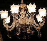 Iluminación pendiente de la decoración cristalina europea moderna de Swarovski