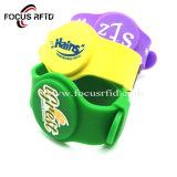 Logo personnalisé Bracelet Bracelet RFID de silicium réglable