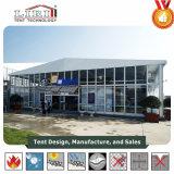Aluminiumrahmen-Würfel-Zelle-Zelt mit Thermo Dach-und Glas-Seiten