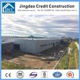 Edifício novo da construção de aço do projeto