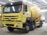 Carro concreto del mezclador del carro 9m3 de Sinotruk HOWO A7 371HP 6X4